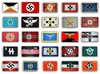 24 Scarce German Third Reich WWII Flags - Free Delivery