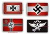 4 German Nazi Third Reich Flags Flags
