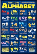 Alphabet Print for Teaching - FREE Shipping