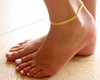 Ankle Gold Chain Anklets Foot Jewelry - Ships FREE
