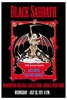 Black Sabbath Concert Poster 1971 Bronx New York