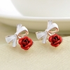 Rose Stud Earrings Ear Stud Jewelry