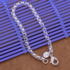 Bracelet Silver Plated Trendy Jewelry