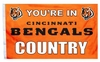 Cincinnati Bengals Flag - You're in Bengals Country
