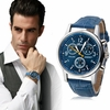 Wristwatch Men Luxury Fashion Crocodile Quartz Watch