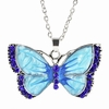 Beautiful Butterfly Charms Pendant Necklace Jewelry