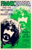 Frank Zappa and Mothers of Invention 1971 Concert Poster