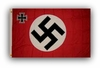 German Swastika Cross Nazi Flag WWII Germany