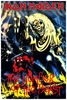 Iron Maiden Concert Poster