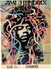Jimi Hendrix Concert Poster 1969 Germany