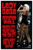 Lady GaGa Concert Poster NYC 2010