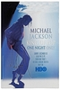 Michael Jackson Thriller poster HBO Special