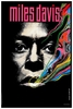 Miles Davis Psychedelic Poster