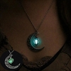 Moon Glowing Pendant Necklace Jewelry