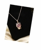 Kitty Cat Rhinestone Necklace Jewelry