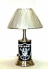 Oakland Raiders Electric Lamp