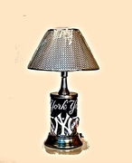 New York Yankees Electic Lamp