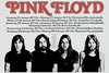 Pink Floyd Concert Tour 1968 Germany Poster
