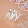 Silver Plated Trendy Ring