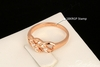 Exquisite Cubic Zirconia Rose Gold Ring -m Free Shipping