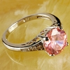 Pink Topaz Ring Jewelry - Size 7