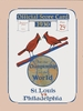 1930 World Series St Louis Cardinals vs Philadelphia A's poster
