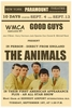 The Animals - Eric Burdon Come to U S Poster 1964