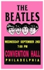The Beatles Concert poster Convention Hall Philadelphia 1964