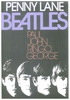 The Beatles Penny Lane Poster