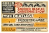 The Beatles Xmas show 1963 England poster