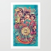 The Beatles 1968 Concert Poster Boston Mass