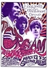 The Cream Concert Poster 1968