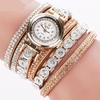 Wristwatch Fashion Luxury Rhinestone Bracelet Ladies Quartz Jewelry