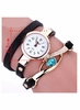 Watch Bracelet Gemstone Women Digital Quartz Bracelet Wristwatch