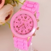 Wristwatch Silicone Quartz Women Casual Sport Jewelry