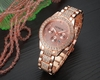 Wristwatch Women Geneva Quartz Watch Ladies Luxury Crystal Rhinestone Jewelry