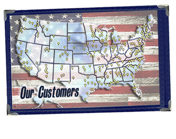 Our Customers 'Covering' the USA