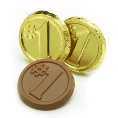 #1 Foiled Chocolate Coins