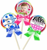 1st Birthday Personalized Lollipops