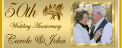 A-001CW - 50th Wedding Anniversary Candy Bars
