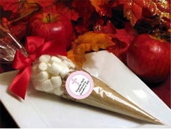 Christening / Baptism Apple Cider Cone Favors