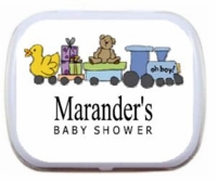 Baby Boy Toys Personalized Mint Tins