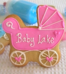 Baby Carriage Cookie Favors