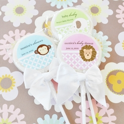 Baby Shower Personalized Lollipops