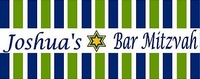 BAR-06CW Green & Blue Striped Candy Bar