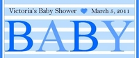 BAS-25CW Blue Big Baby Candy Bar Favors