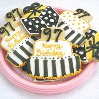 Birthday Cake Cookie Favors