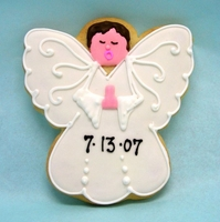 Boy Angel Cookie Favors