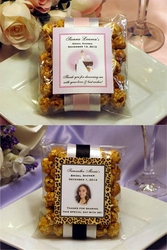 Bridal Shower Caramel Corn Favors