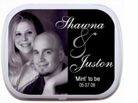 Bridal Shower Personalized Mint Tins